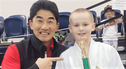 Junior Judoka First Place Win