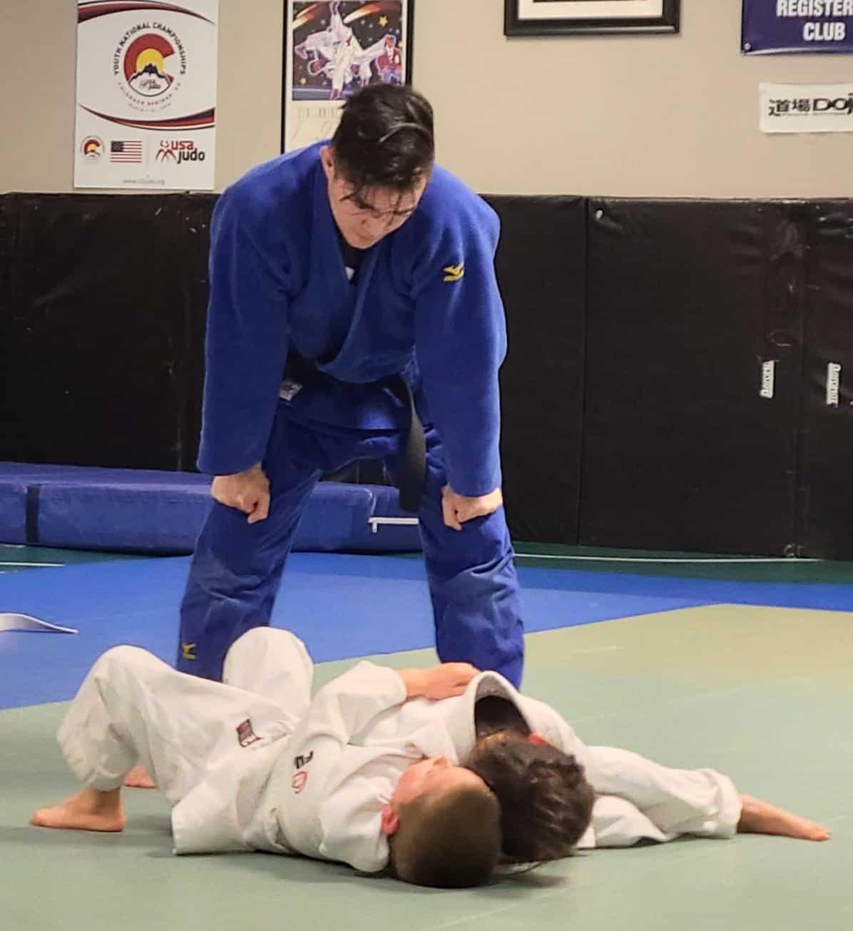 kids judo lessons
